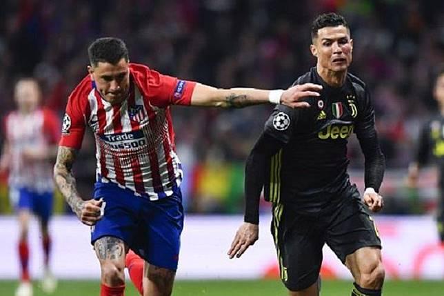 Juventus Vs Atletico, Ronaldo Minta Fans Yakin dan Berpikir Positif