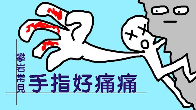好痛痛 攀岩 手指痛 手指滑車韌帶 ATX 物理治療 姚斯元