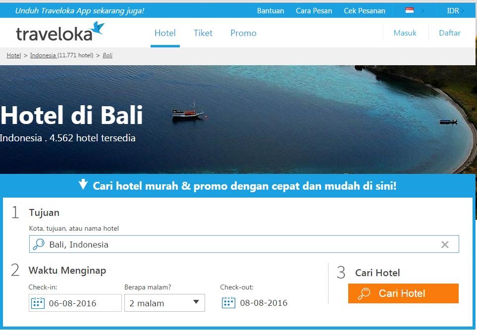 Cari Hotel Di Bali