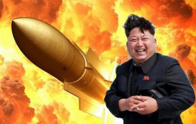 Η Βόρεια Κορέα εκτόξευσε δύο βλήματα προς τη Θάλασσα της Ιαπωνίας