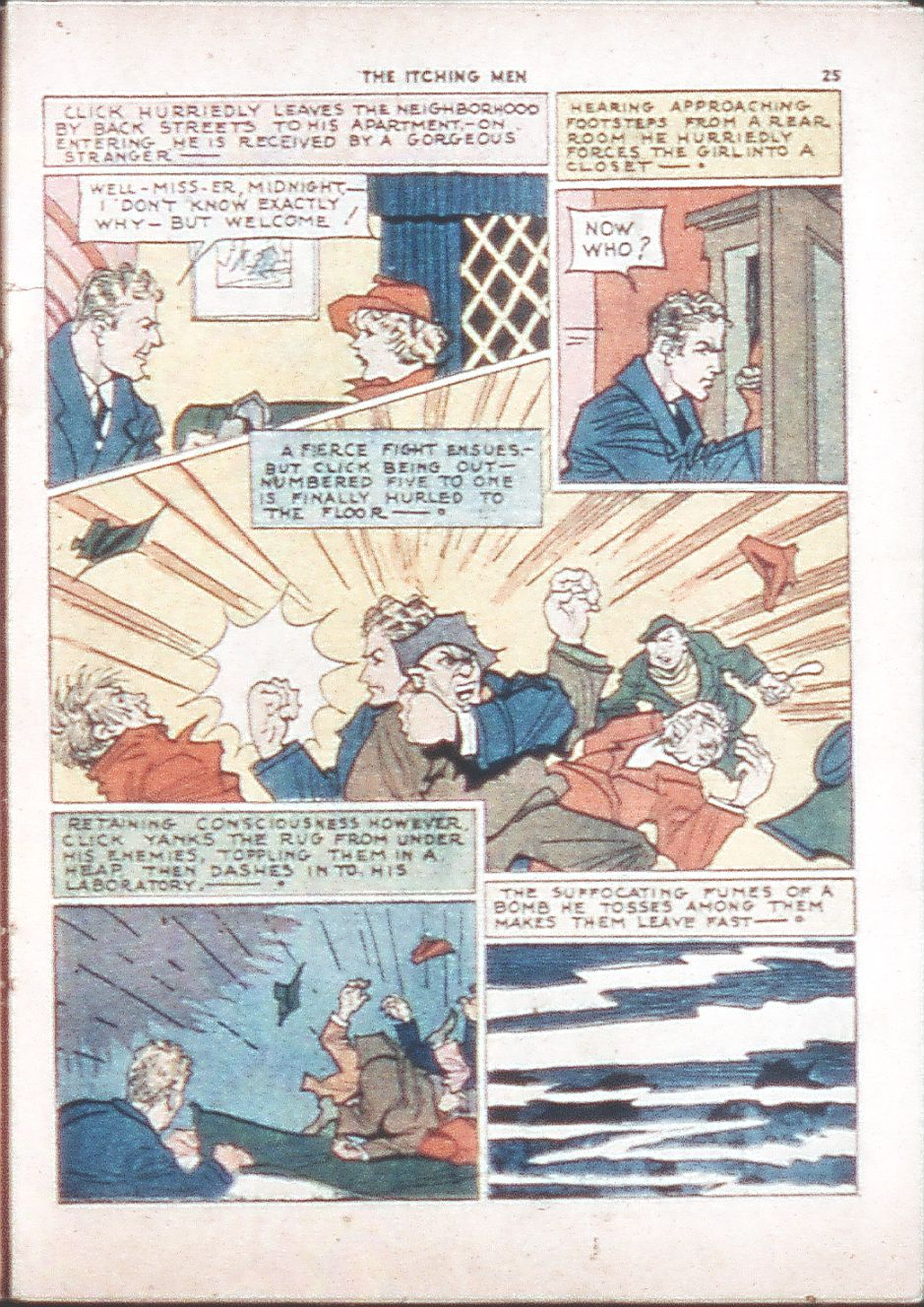 Read online Shadow Comics comic -  Issue #6 - 27