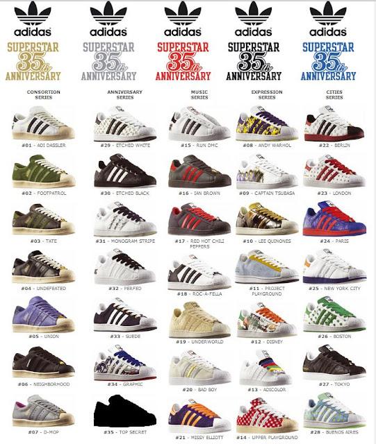 34f9e54dff Shoesgoodness  All adidas superstar 35th ANNIVERSARY