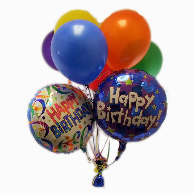 happy birthday with balloons part 1. Black Bedroom Furniture Sets. Home Design Ideas