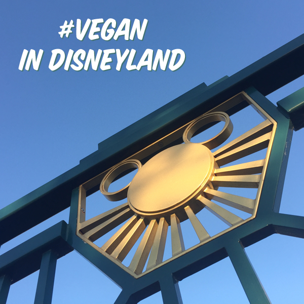 Vegan in Disneyland