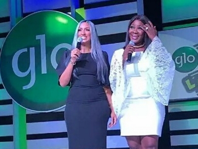 mercy johnson juliet ibrahim fighting on stage
