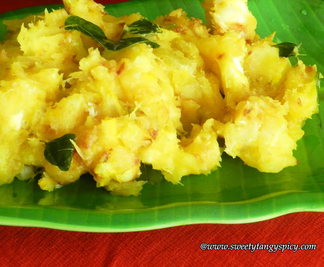 355975f310 Sweety Tangy Spicy: Kappa Ularthiyathu| Tapioca Stir Fry Kerala Style