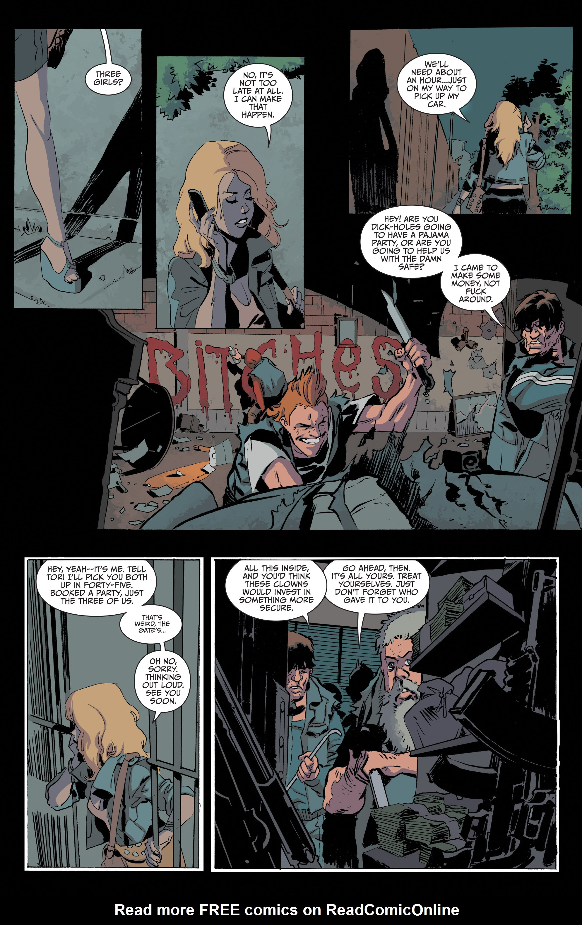 Read online Sons of Anarchy comic -  Issue #20 - 20