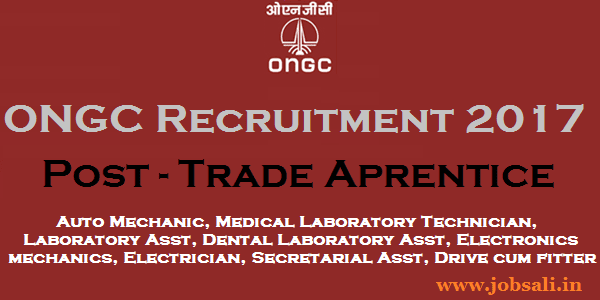 ONGC Careers, ONGC Appentice jobs, ONGC Vacancy