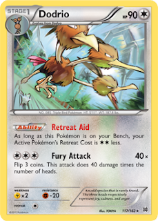 Dodrio BREAKthrough Pokemon Card