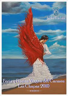 Las Chapas (Marbella) - Cartel de la Feria 2010