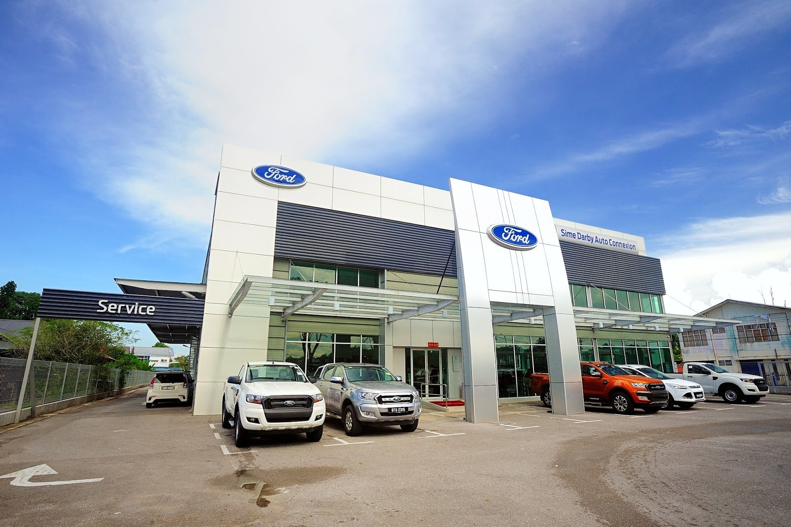 Motoring Malaysia New Sime Darby Auto Connexion Ford 3s Centre