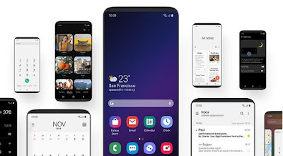 One UI Beta pada Samsung Galaxy S9/S9+ (OTA)