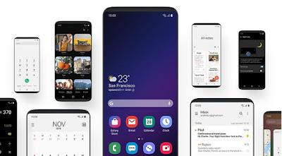 One UI Beta pada Samsung Galaxy S9/S9+ (OTA)