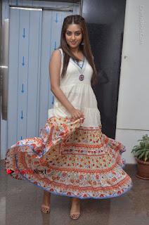 Telugu Actress Anu Emmanuel New Stills in Beautiful White Long Dress  0077.JPG