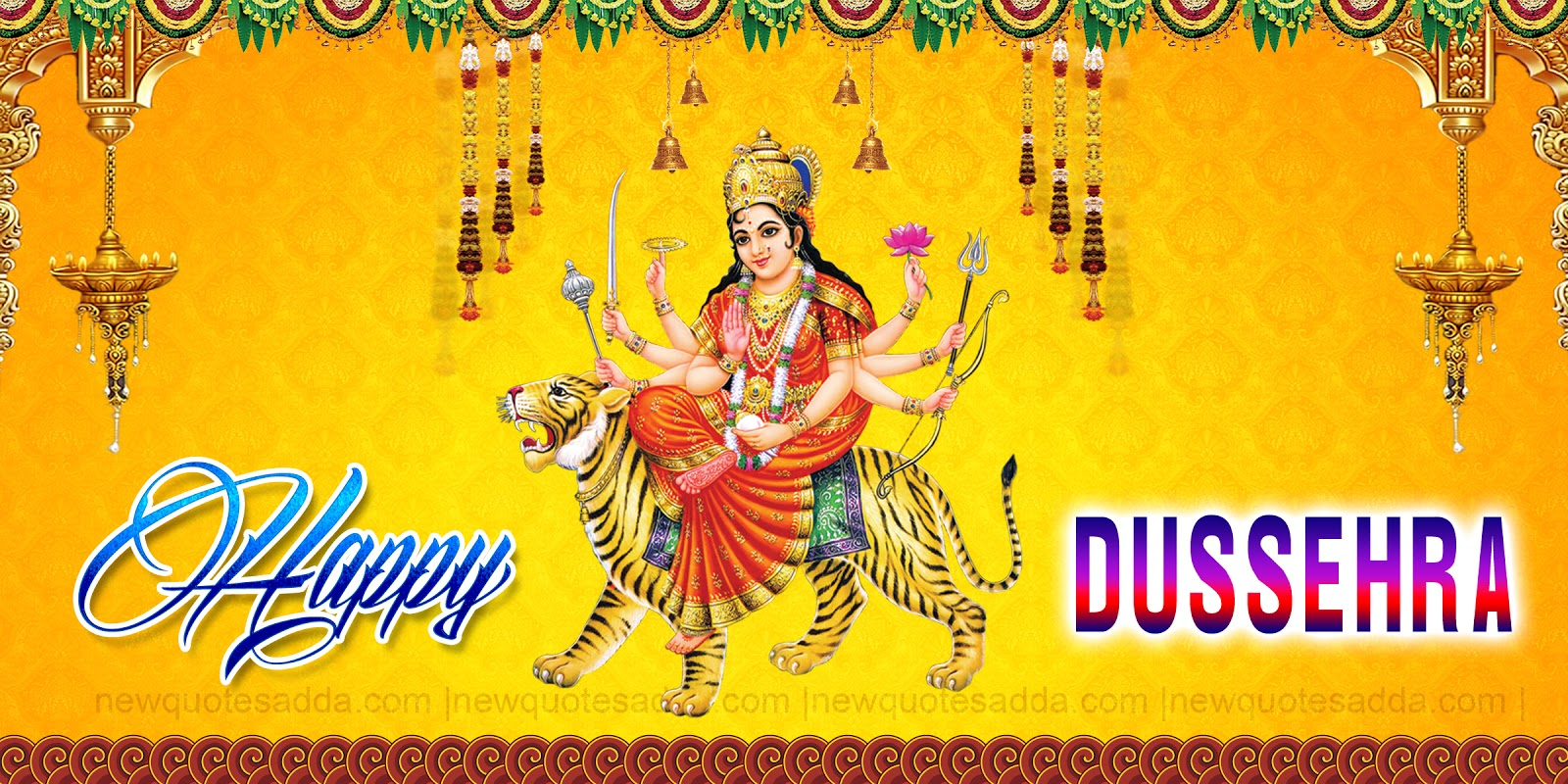 Happy Dasara Latest Text Messages And Greetings Newquotesadda