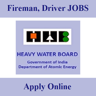 Heavy Water Board, HWB, Maharashtra, 10th, Fireman, Driver, freejobalert, Sarkari Naukri, Latest Jobs,
