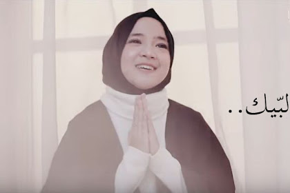 Lirik Lagu Sabyan - Allahumma Labbaik (Teks Arab dan Terjemahnya)