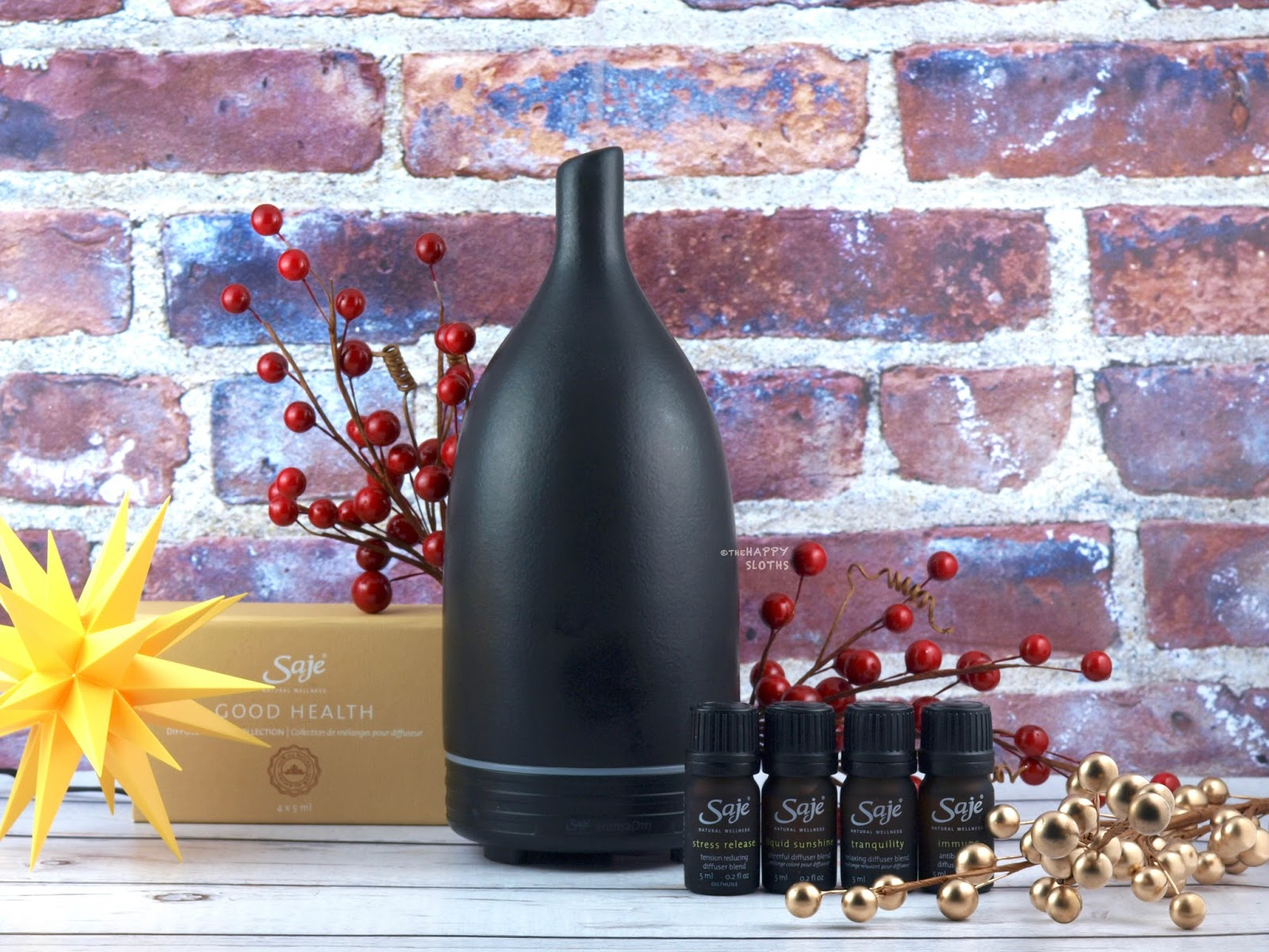 Saje AromaOm Ultrasonic Diffuser: Review