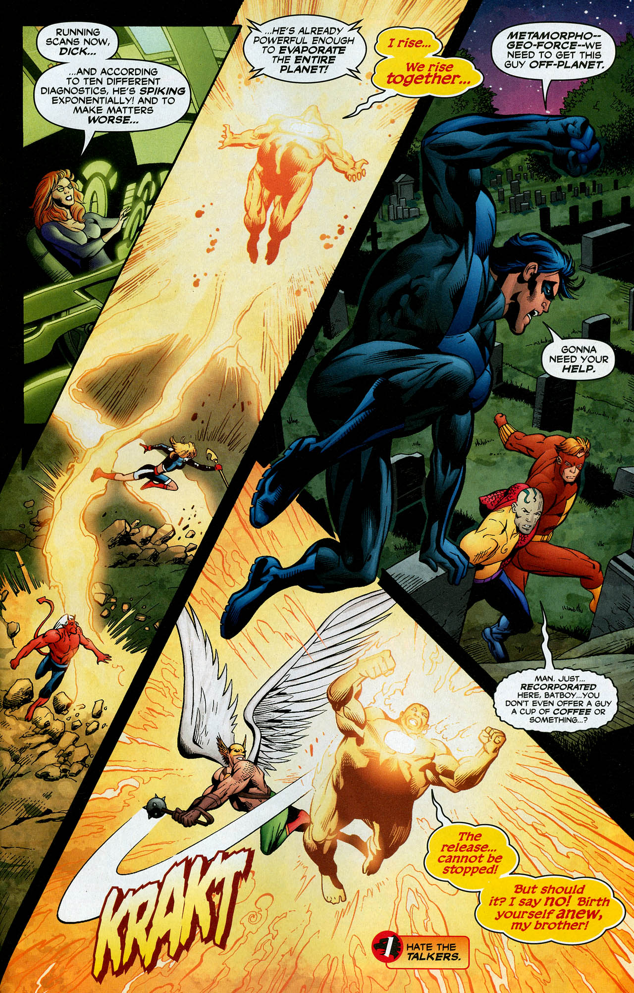 Read online Trinity (2008) comic -  Issue #14 - 23