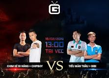 13h00 ngày 18/2/2019, Chim Sẻ Đi Nắng + Chipboy vs BiBi + Tiểu Màn Thầu: Có Chipboy là đủ!