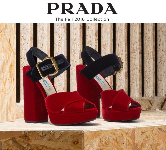 Prada Fall 2016 Shoes