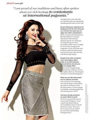 Urvashi Rautela in Femina Magazine