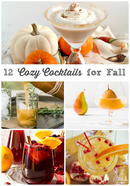 Inspired by some of your favorite fall flavors, these 12 Cozy Cocktails for Fall will keep you feeling warm & fuzzy all season long.