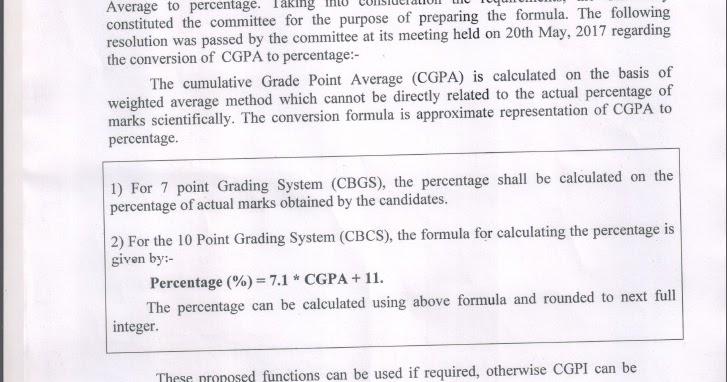 deepcode { }: CGPA to Percentage(Mumbai University, 10 point grading