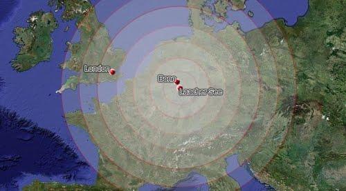 Laacher See Ausbruch