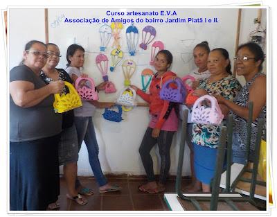 curso artesanato EVA
