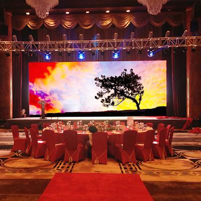 Thi công màn hình led p2 trong nhà chính hãng tại Thái Bình