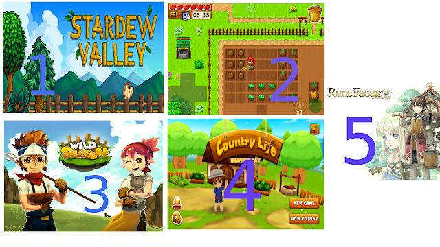 Game Berkebun Seperti Harvest Moon - Di Lihat Mastah!