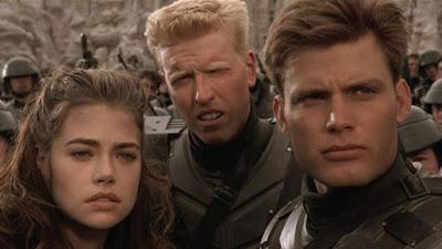 Les héros de Starship Troopers, de Paul Verhoeven (1997)