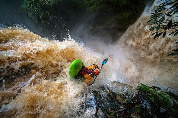 ONE DAY IN THE AMAZON RIVER BASIN   Behind the Shot Kayaking Over Waterfalls in the Amazon