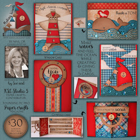 NEW ~ Making Waves Card Kit