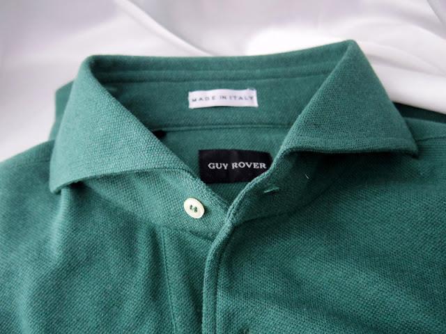 ギ ローバーのポロシャツ