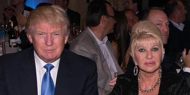 Donald Trump and former wife Ivana Trump fighting to keep divorce records sealed