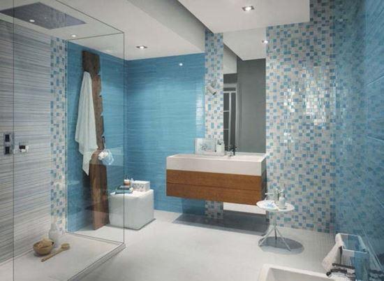 Keramik Dinding Kamar Mandi modern bergaya minimalis