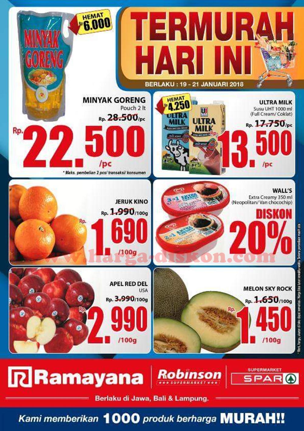 Katalog Promo Spar Supermarket Terbaru Akhir Pekan Periode 19 21 Januari 2018 Harga Diskon