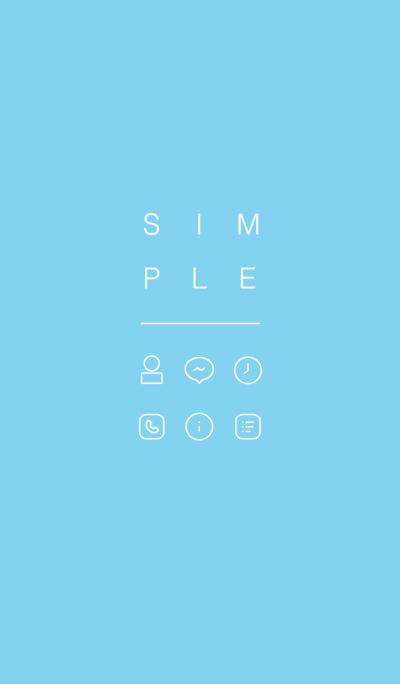 SIMPLE / blue.