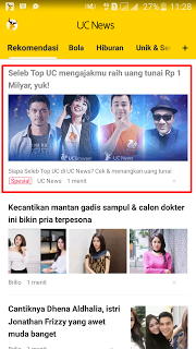 Tips Cepat Dapatkan 1 Juta Dari Program Promo UC News