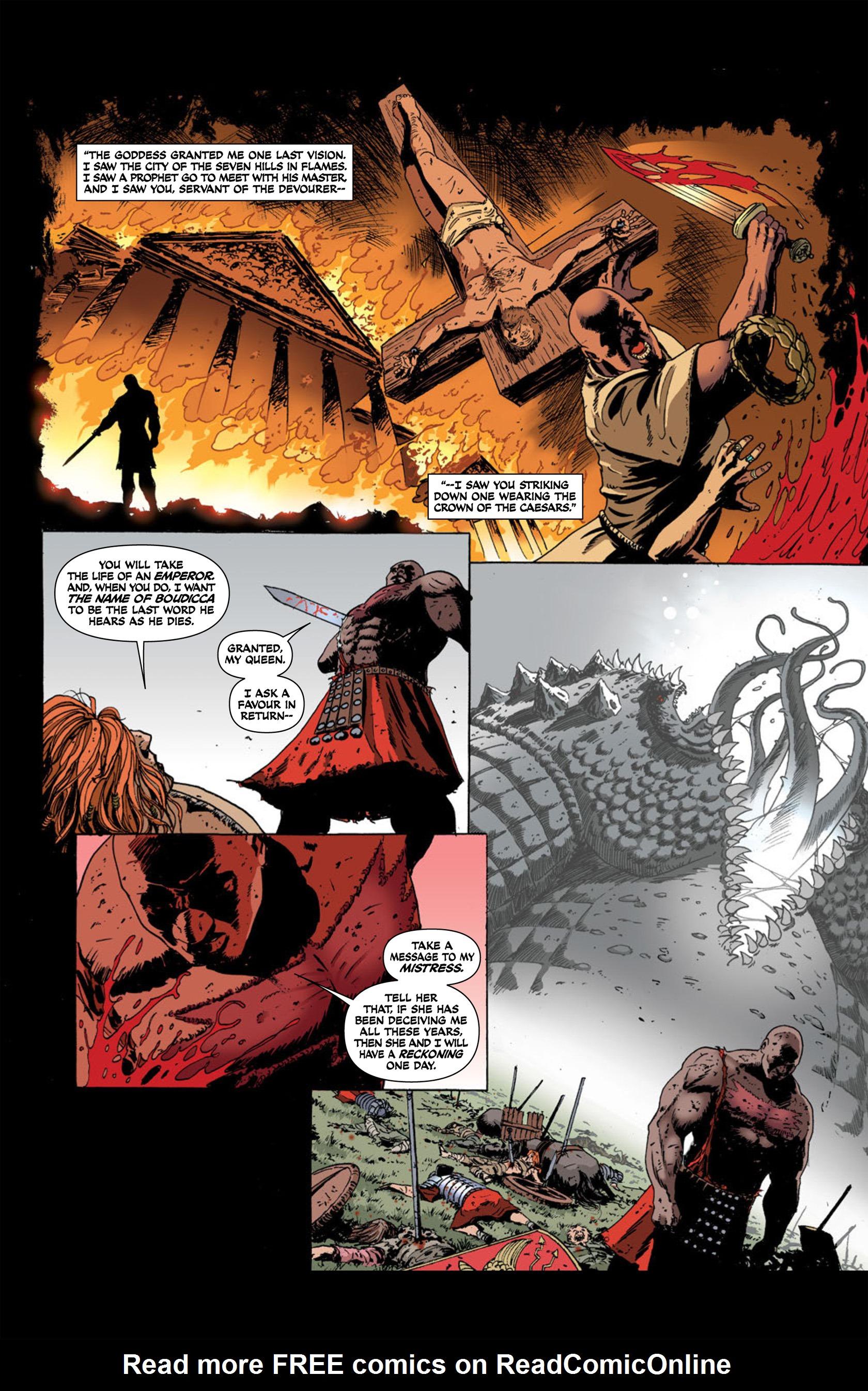 Read online Aquila comic -  Issue #2 - 22