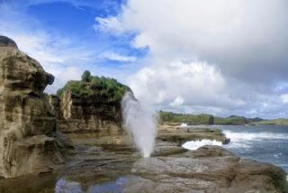 Lokasi Pantai Klayar Pacitan