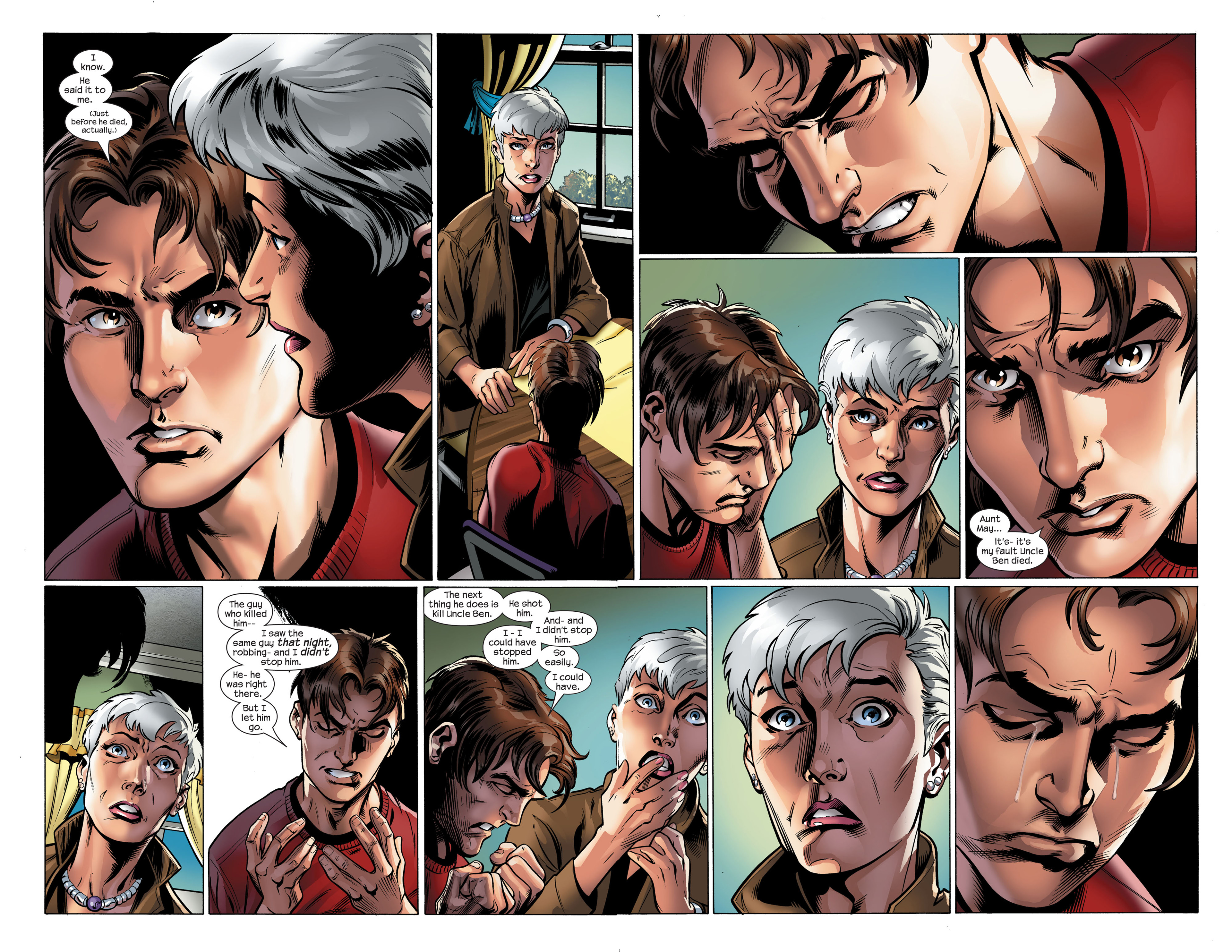 Read online Ultimate Spider-Man (2000) comic -  Issue #111 - 6