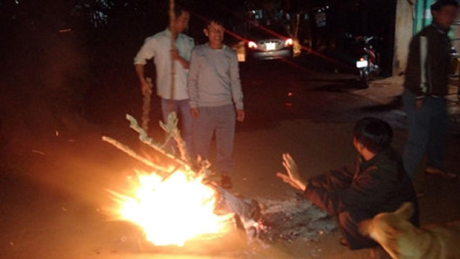 Gia Lai: Độc đáo phong tục đón giao thừa bằng lửa