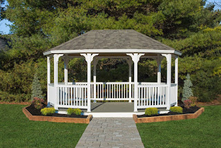 Vinyl Gazebo Oval New Main