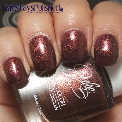 JulieG Nail Color - Core 2015 - #NailsoftheDay | Kat Stays Polished