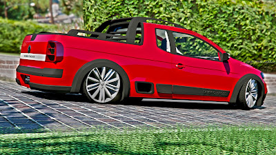 GTA V - VW Saveiro Cross G6 4