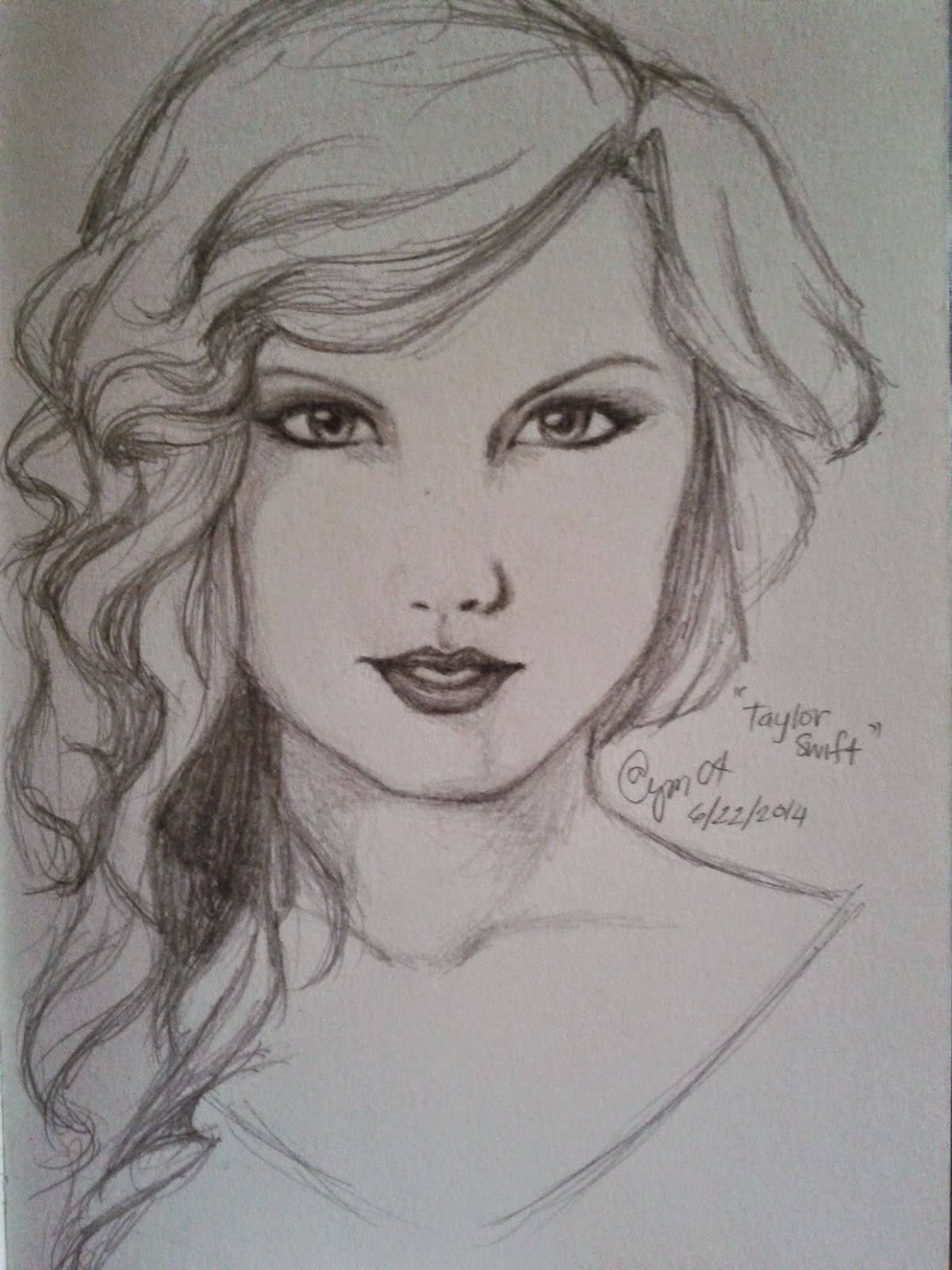 Art taylor swift pencil drawing dandiely ♥