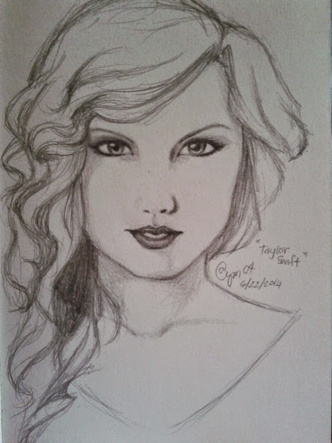 Taylor Swift (Pencil Drawing)